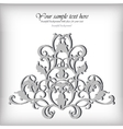 Ornate element for design Ornamental vintage for vector image