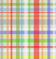 Seamless plaid pattern-grey vector image