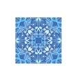 Blue And White Tile Portuguese Famous Symbol vector image