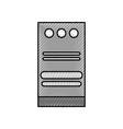 tower computer hardware storage device technology vector image