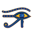 egypt eye vector image vector image
