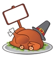 Thanksgiving dinner vector image vector image