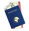 passport 07 vector image