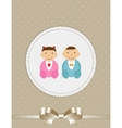 for Newborn Baby vector image