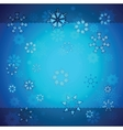 creative christmas background vector image vector image