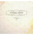 Light vintage background vector image vector image