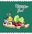 CuttingBoard vector image