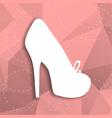 paper shoe vector image