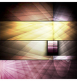 set of abstract frames vector image