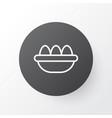 eggs icon symbol premium quality isolated ovum vector image
