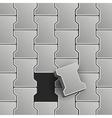 Lock Pavement vector image vector image