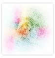 Abstract colorful bright grunge background vector image