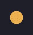 full moon computer symbol vector image