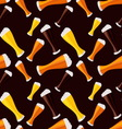 light dark and red beers seamless pattern vector image