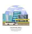 Shopping Mall Orthogonal Design vector image