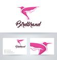 Bird Brand vector image