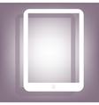 Computer tablet icon vector image