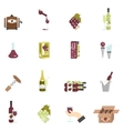 Wine Icon Flat vector image