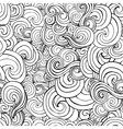 Seamless pattern with black and white stylized vector image vector image