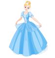 Cinderella vector image vector image