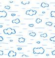 doodle heaven 5 vector image