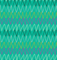 Doodle abstract pattern with zigzag Blue backdrop vector image