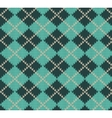 Seamless Rhombus Blue Color Knitted Pattern vector image