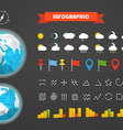 Infographic elements template Different vector image vector image