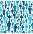 Social media people pattern vector image vector image