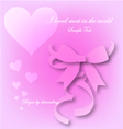 Love begin by descending eps10 vector image