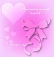 Love begin by descending eps10 vector image