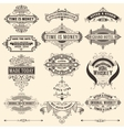 Mega pack of banners and labels vector image
