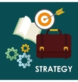 Business management projects vector image