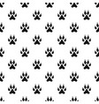 cat paw pattern vector image