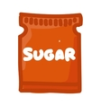 sugar bag isolated icon vector image