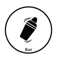 Bar shaker icon vector image