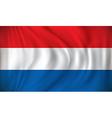 Flag of Netherlands vector image