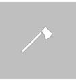 hatchet computer symbol vector image