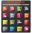 power generation industry icons vector image