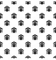 cat house pattern vector image