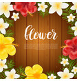 floral card banner poster design beautiful vector image