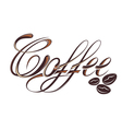 Coffee design template vector image vector image