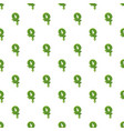 letter q made of green slime vector image