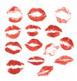 set lips 3 380 vector image