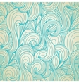 Retro swirls seamless wallpaper vector image