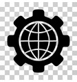 global options icon vector image