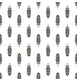 seamless pattern with black feathers vector image