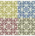 Seamless Eastern Patterns vector image