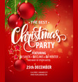 Christmas Party design template