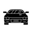 car - race - racing icon vector image